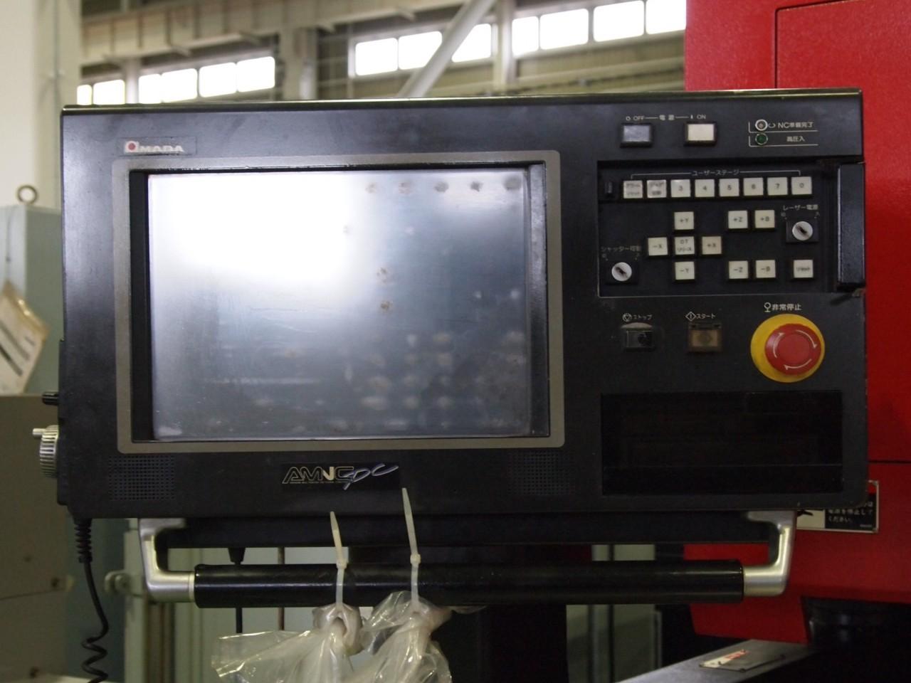 LC-1212αⅢNTのNC操作盤