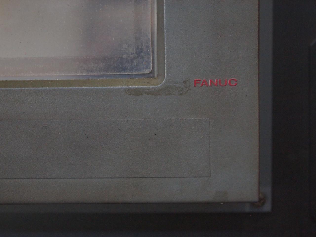 NC操作盤のFANUCロゴ
