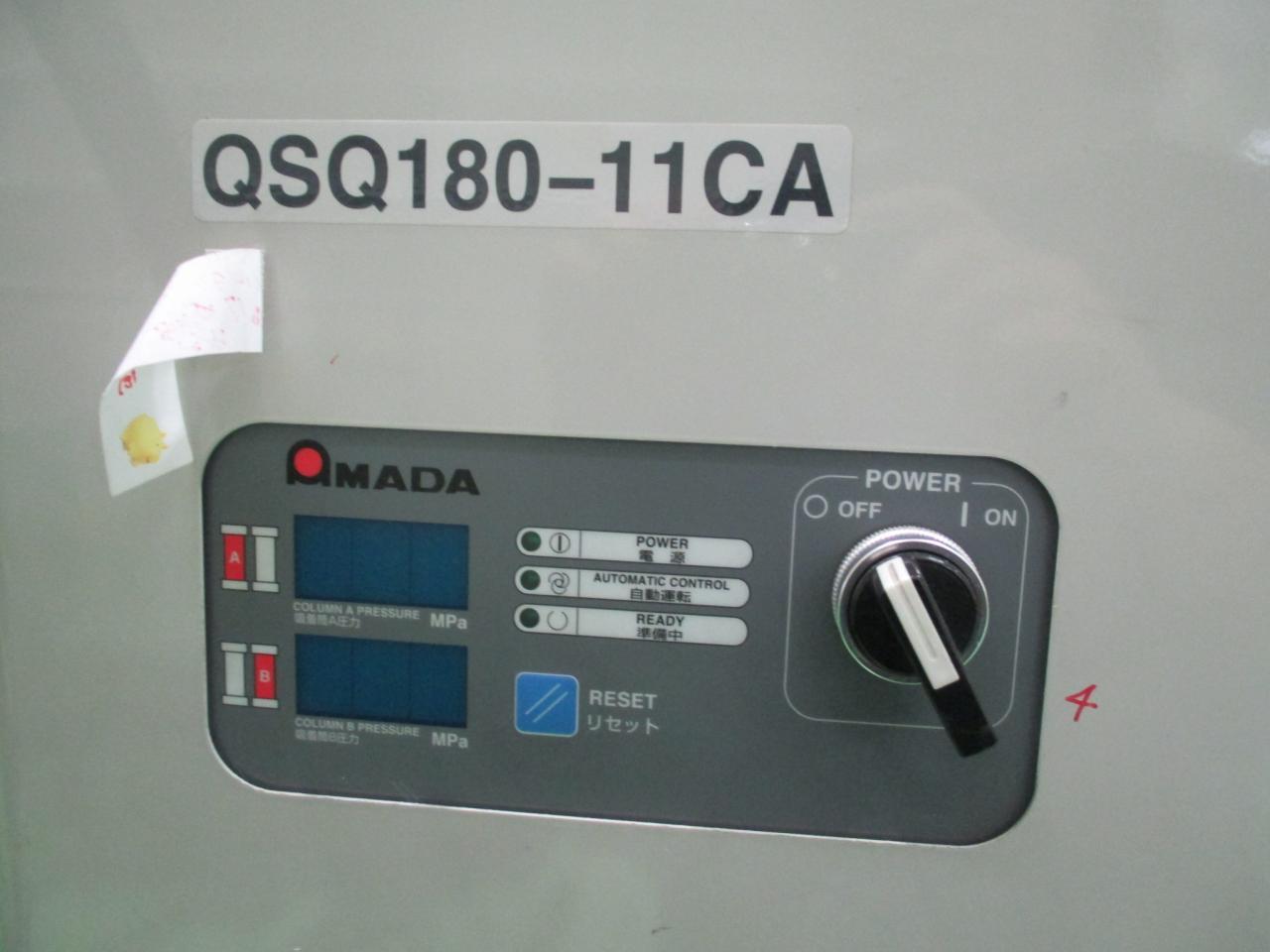 パージ用ドライヤーの操作部・型式表示部