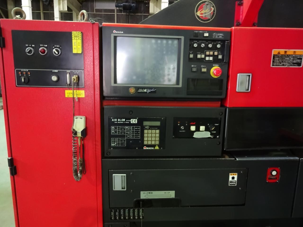 PEGA-358NTのNC操作盤