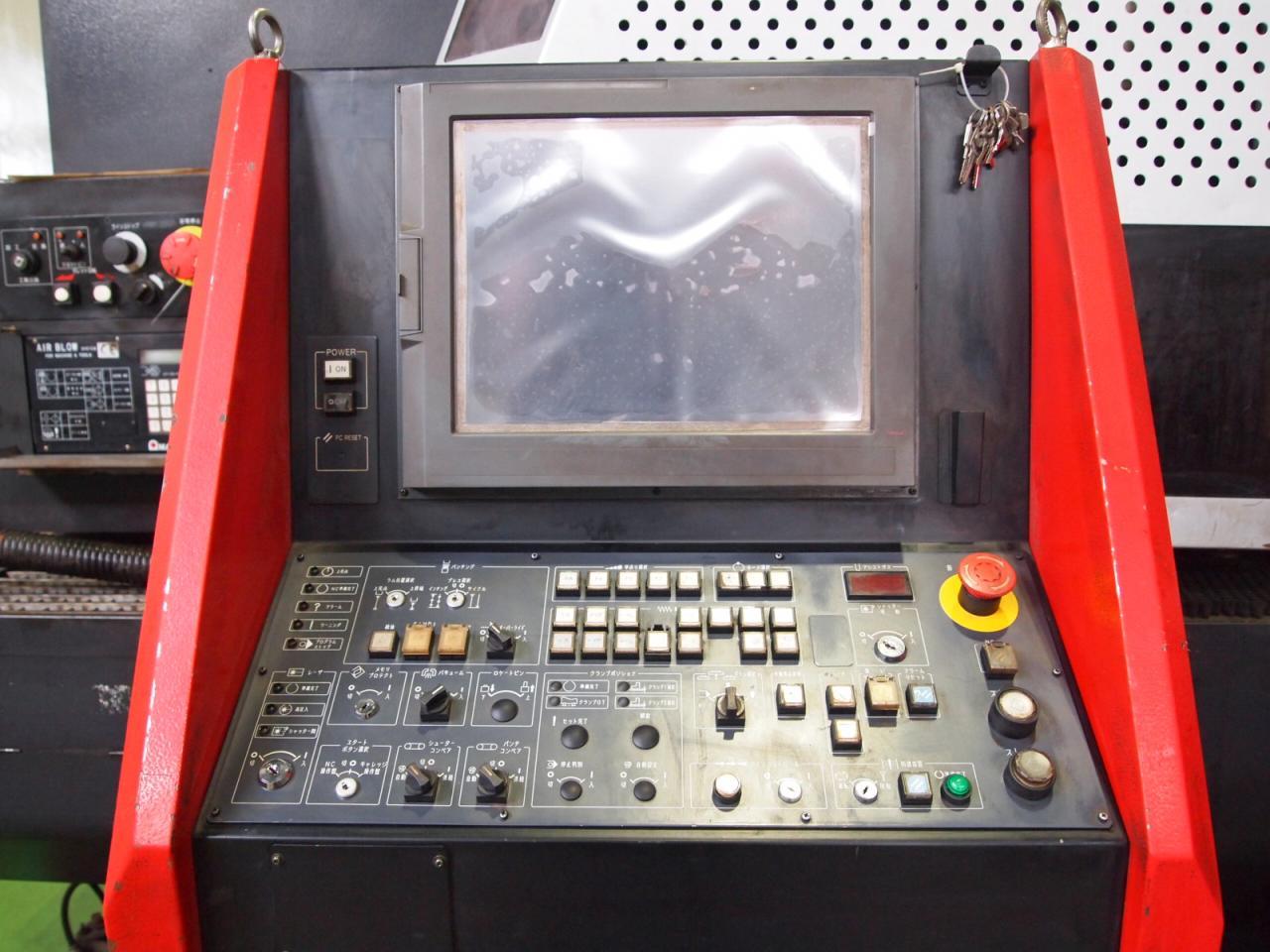 EML-3510NTのNC操作盤