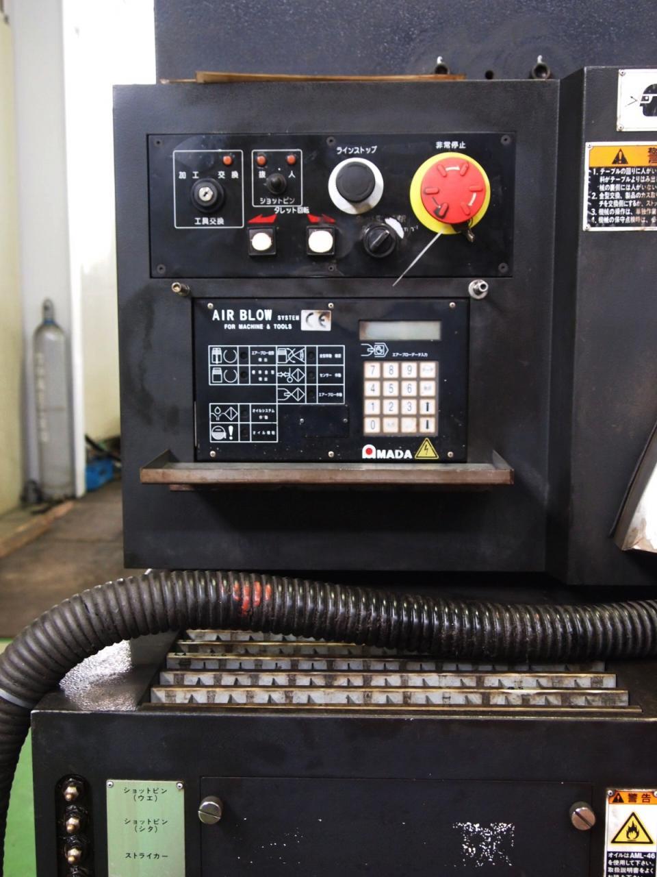 EML-3510NTのエアブロー操作盤