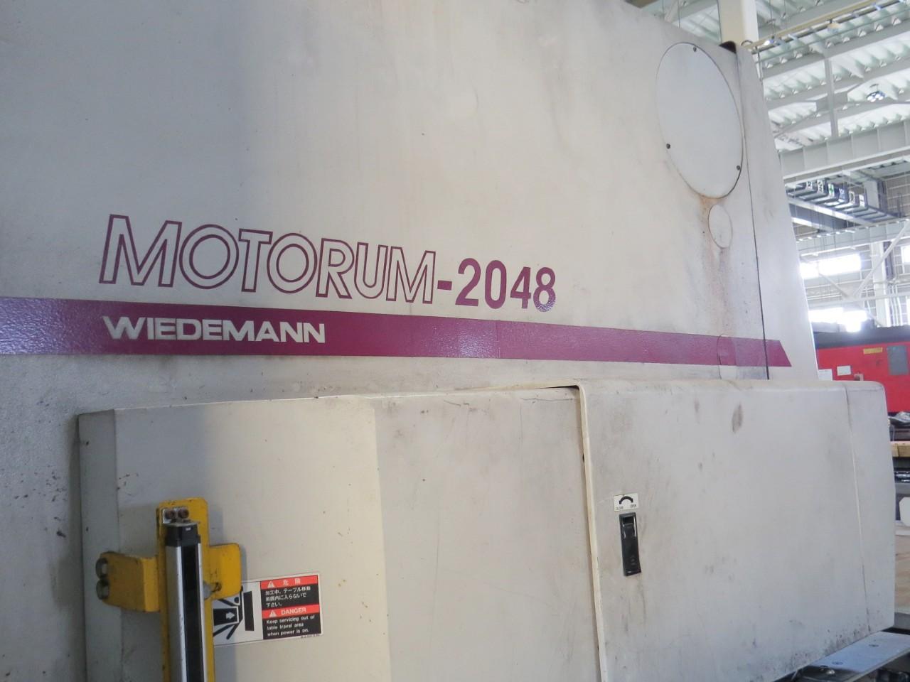 MOTORUM-2048の型式表示部分