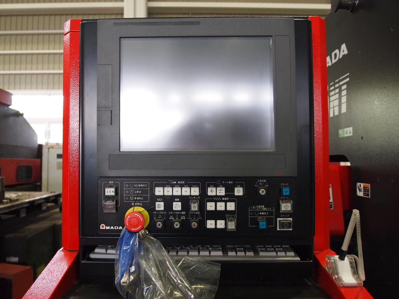 AE255NTのNCコンソール画面