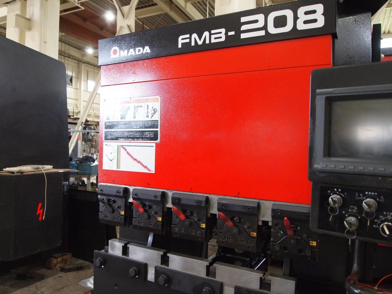 FMB-208本体正面右からのアップ