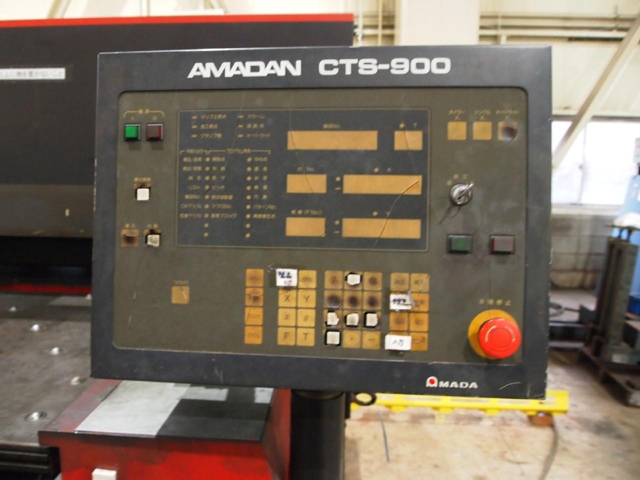 CTS-900操作パネル