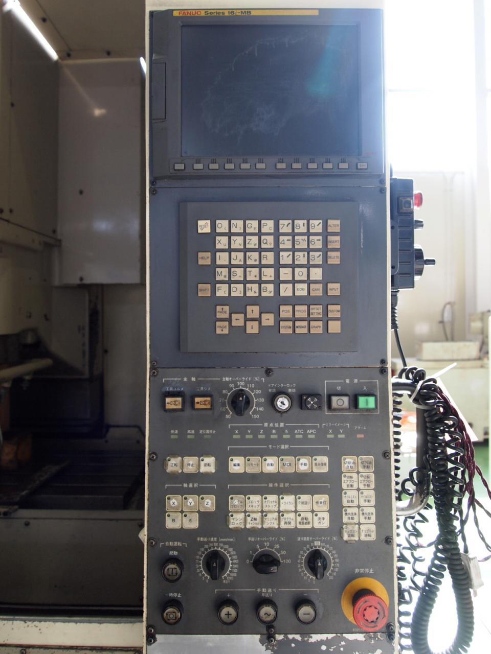 MILLAC-468V・NC操作盤