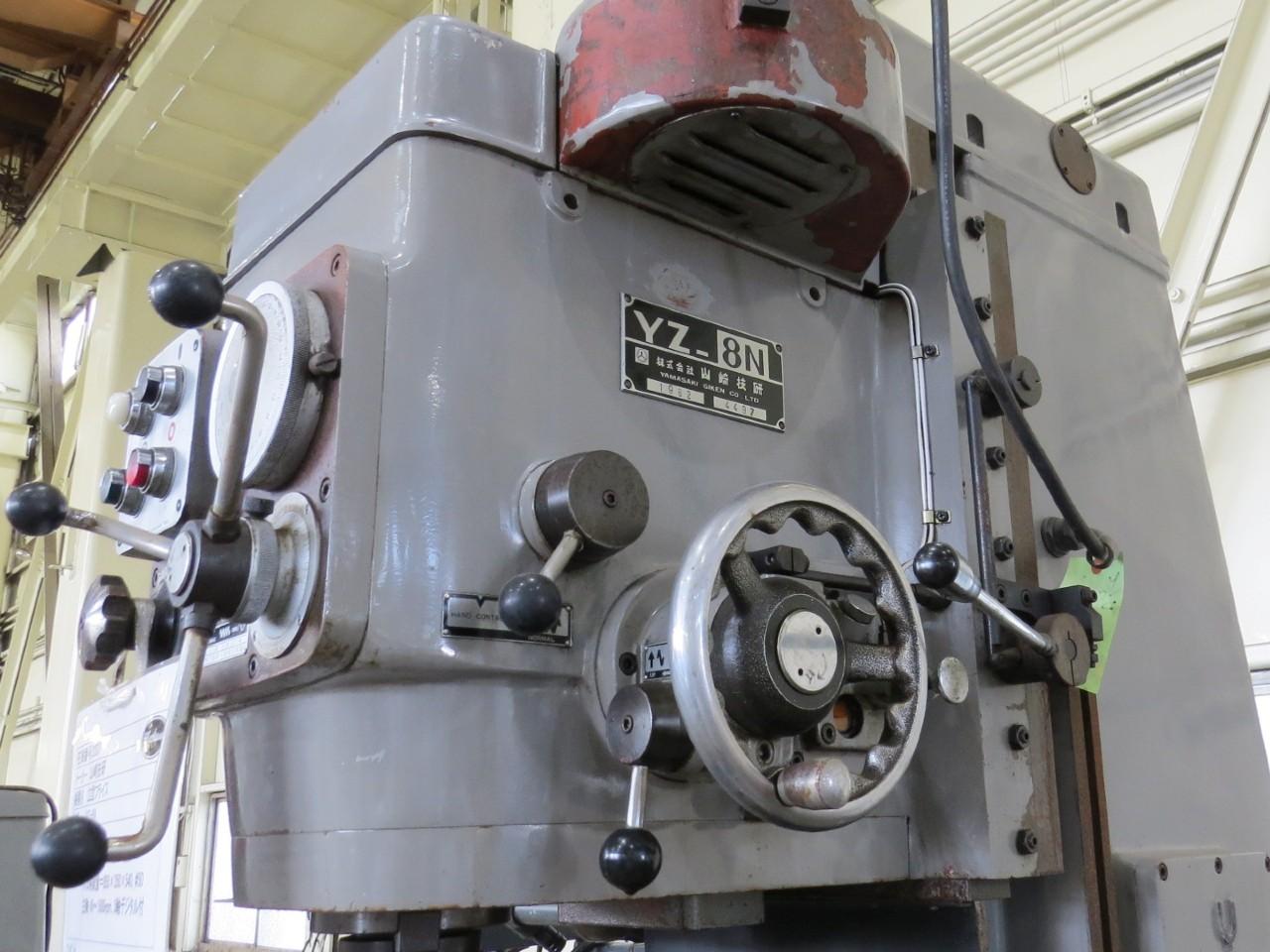 YZ-8N本体上部側面