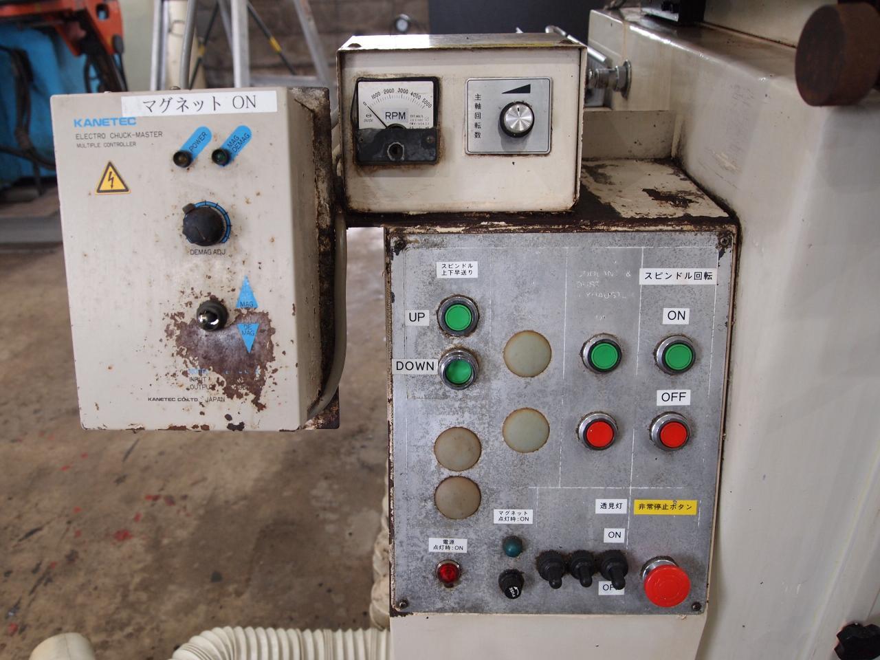 F-515Ⅱ操作ボタン類
