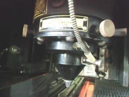 レーザー照射部分(ヘッド)のアップ