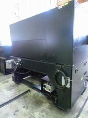 レーザー加工機の発振器の部分